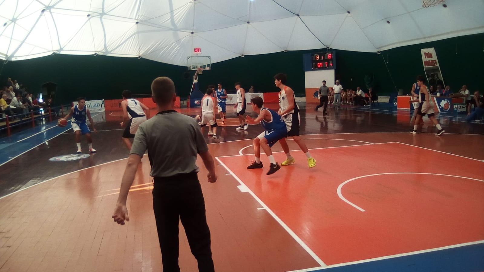 U16E Tiber Bk - Olimpia Roma 48-61 1
