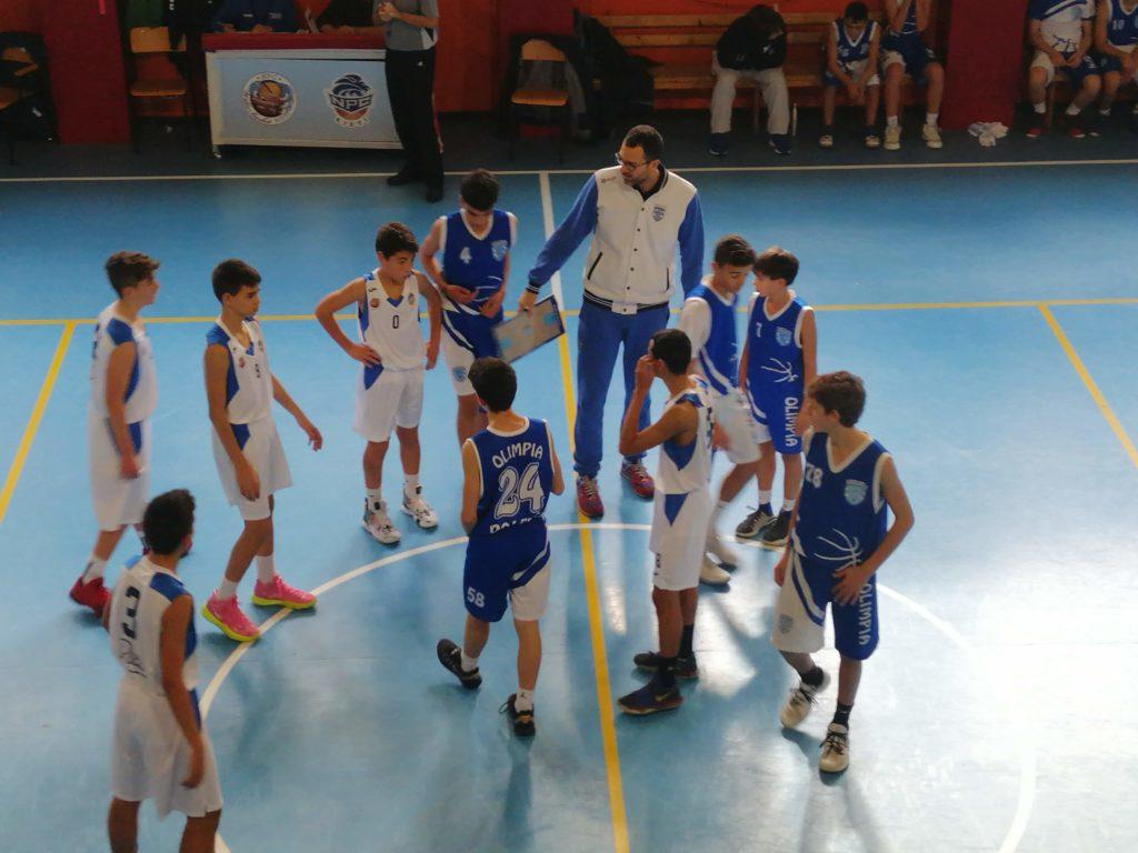 U14E  Willye Bk Rieti - Olimpia Roma 33-61 3