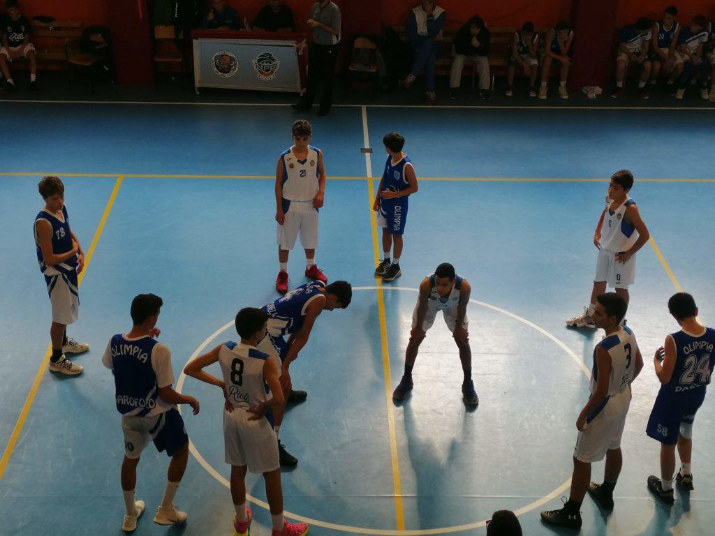 U14E  Willye Bk Rieti - Olimpia Roma 33-61 4