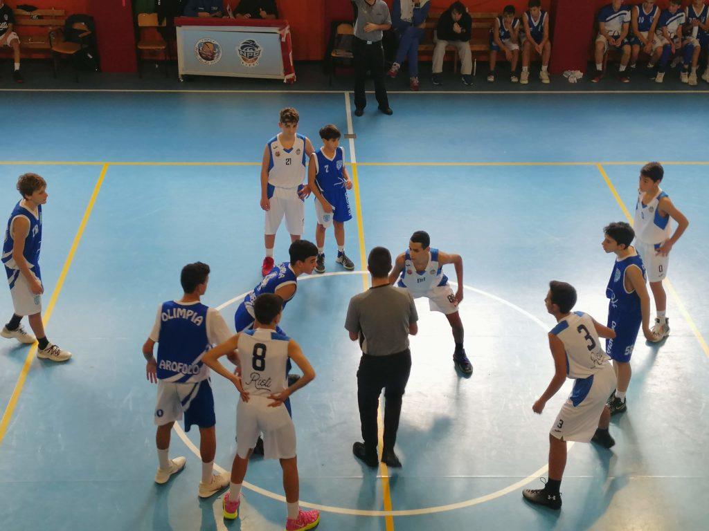 U14E  Willye Bk Rieti - Olimpia Roma 33-61 5