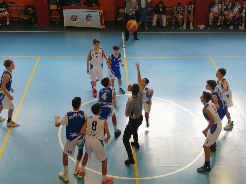 U14E  Willye Bk Rieti - Olimpia Roma 33-61 6