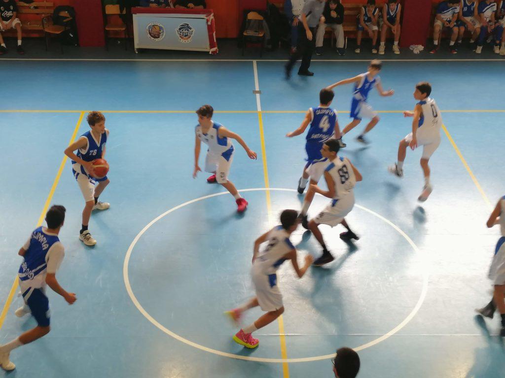 U14E  Willye Bk Rieti - Olimpia Roma 33-61 7