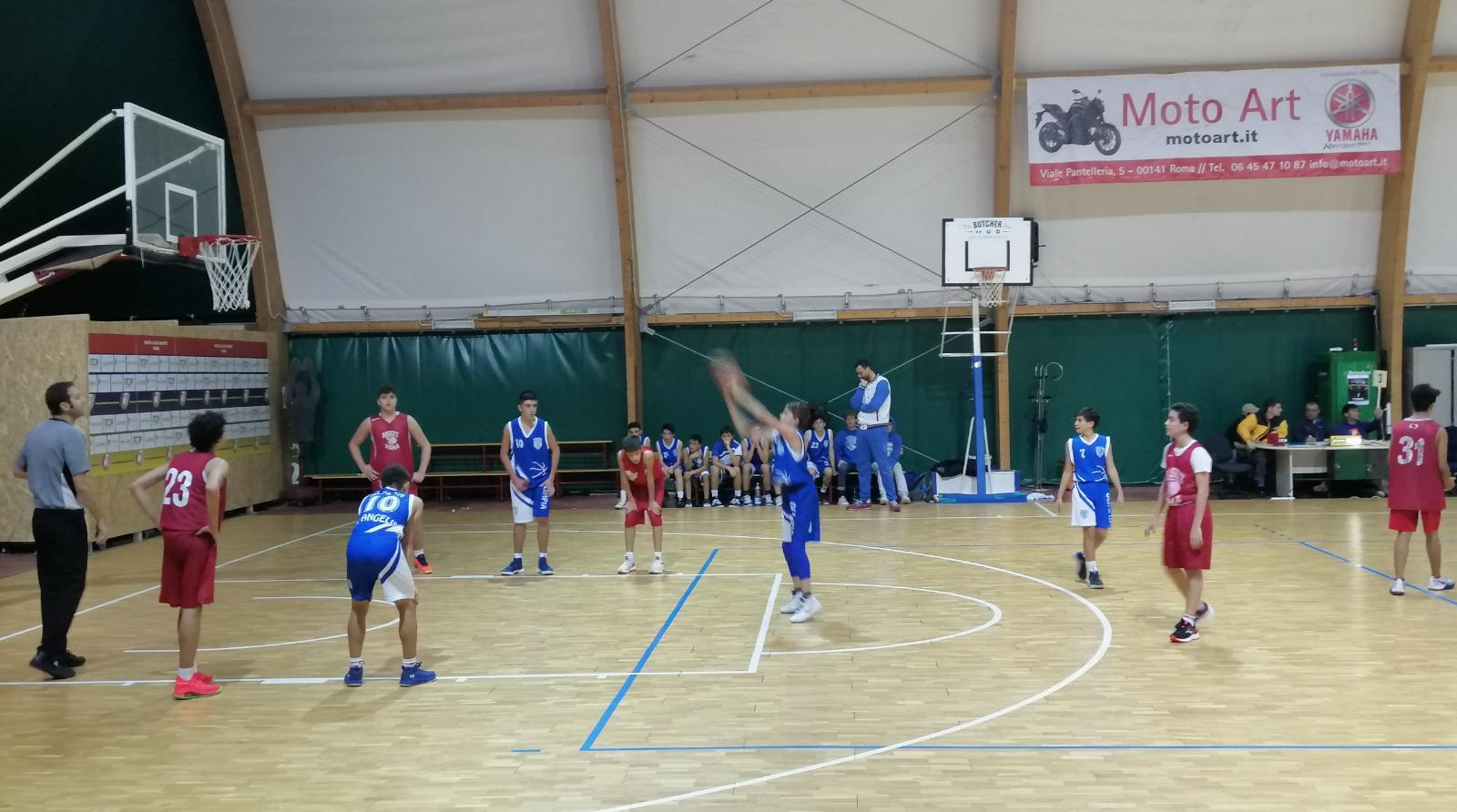U15S Scuola Bk Roma - Olimpia Roma 56-41 16