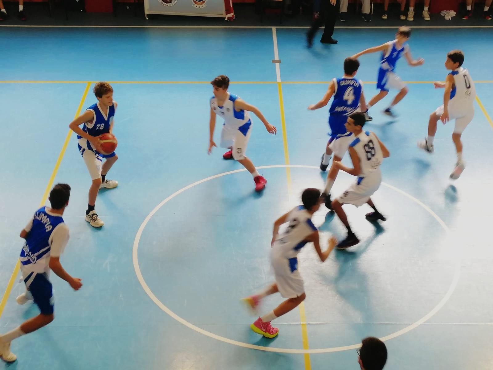 U14E  Willye Bk Rieti - Olimpia Roma 33-61 12