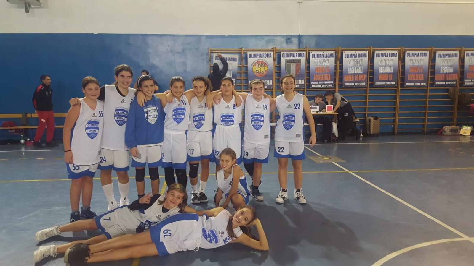 U14F Olimpia Roma - Academy Latina 65-45 1