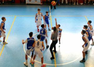 U14E  Willye Bk Rieti - Olimpia Roma 33-61 2