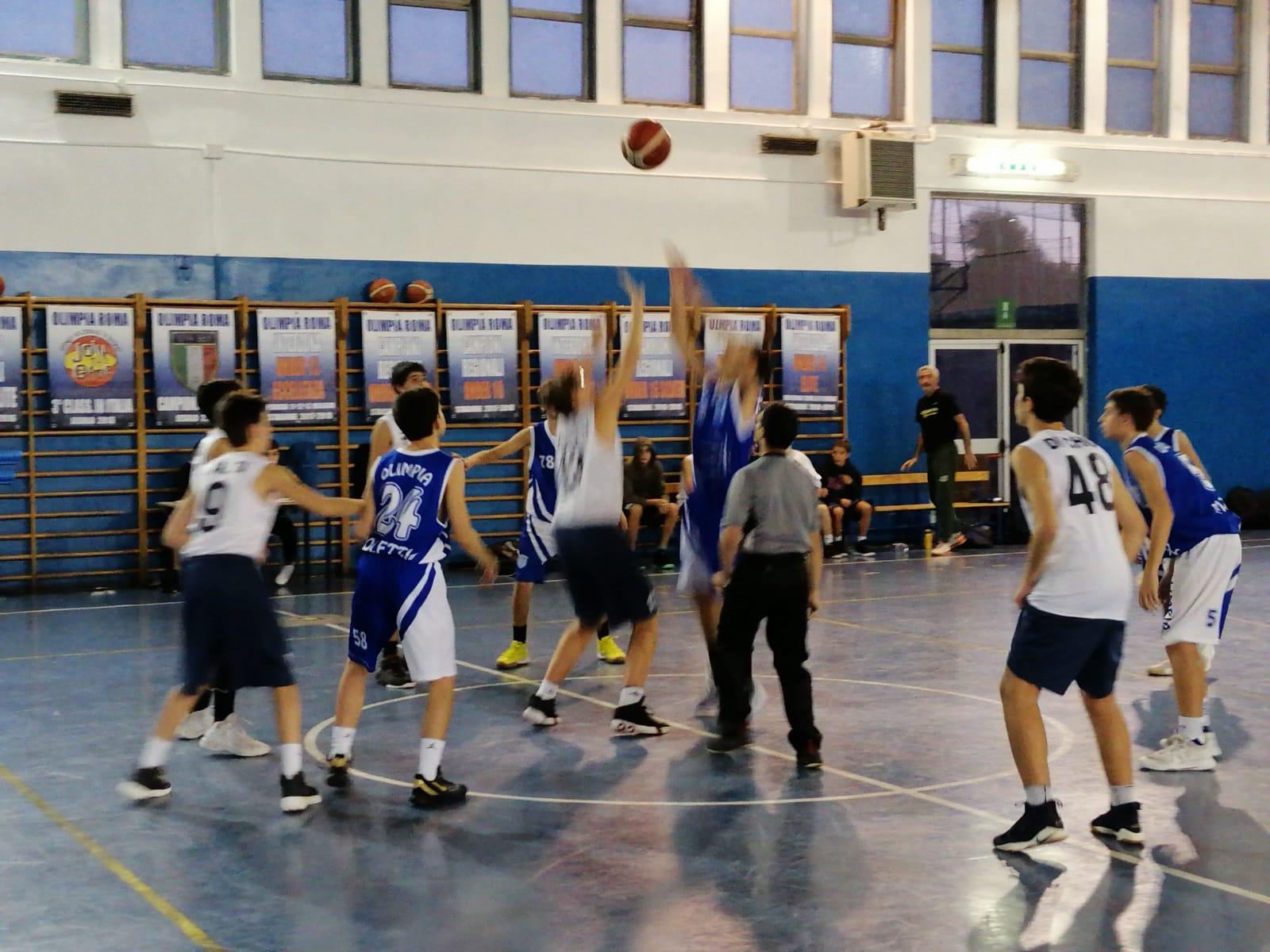 U15S Olimpia Roma - Virtus Roma 50-33 34