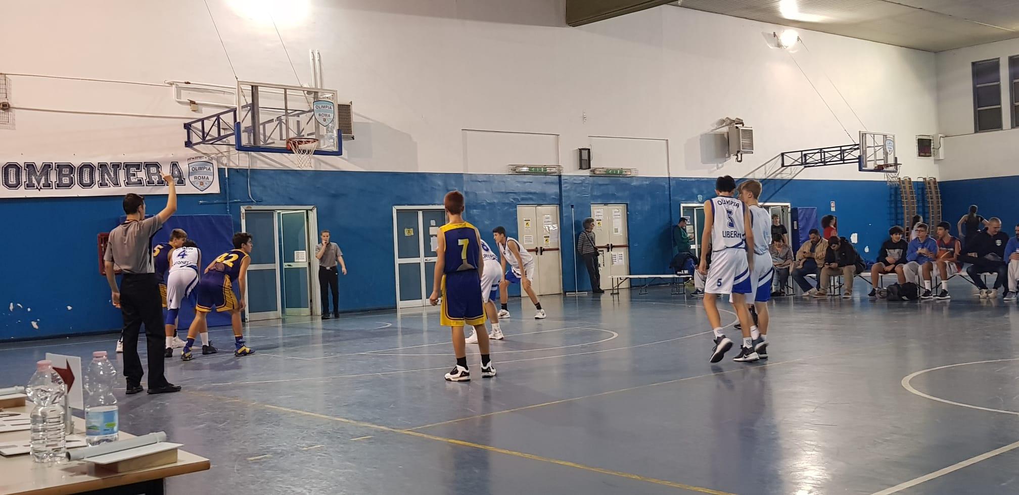 U15E Olimpia Roma - Basket Petriana 122-39 1