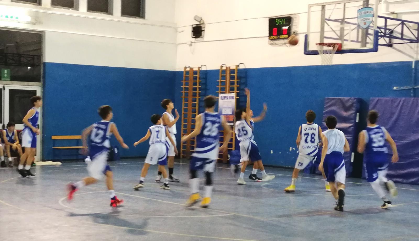 U15S Olimpia Vis Nova - Olimpia Roma 54-63 1