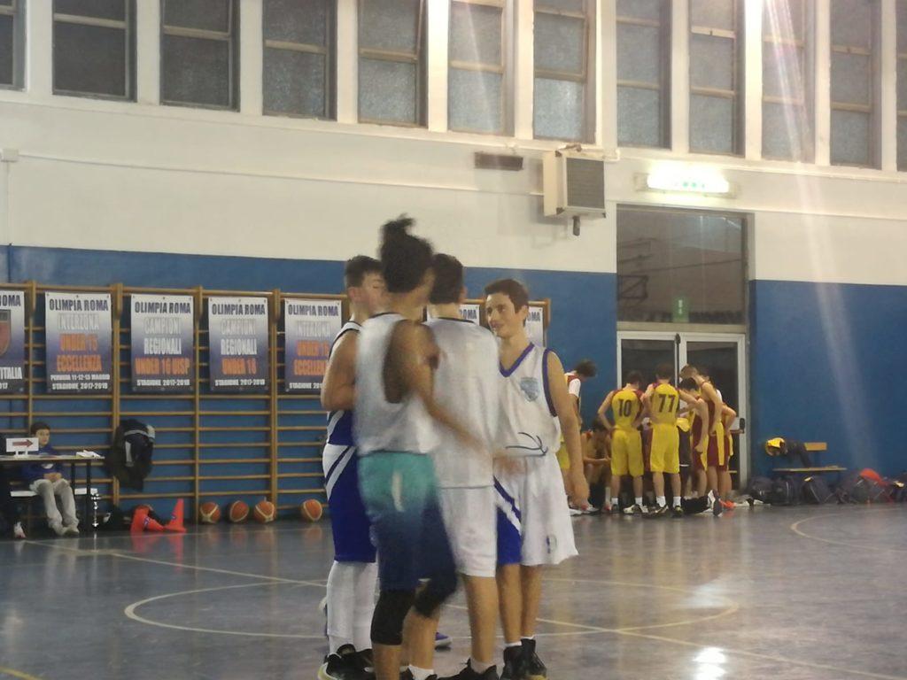 U15S Olimpia Vis Nova - San Paolo Ostiense 47-55 1