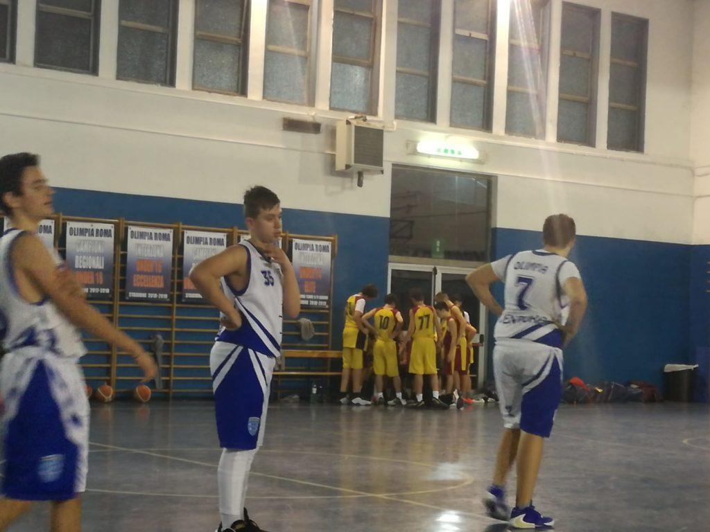 U15S Olimpia Vis Nova - San Paolo Ostiense 47-55 2