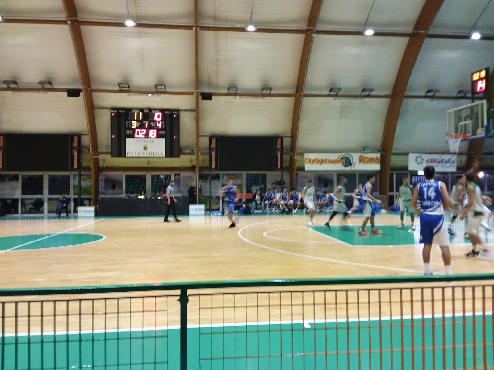 U16Ecc Palestrina - Olimpia Roma 74-53 1