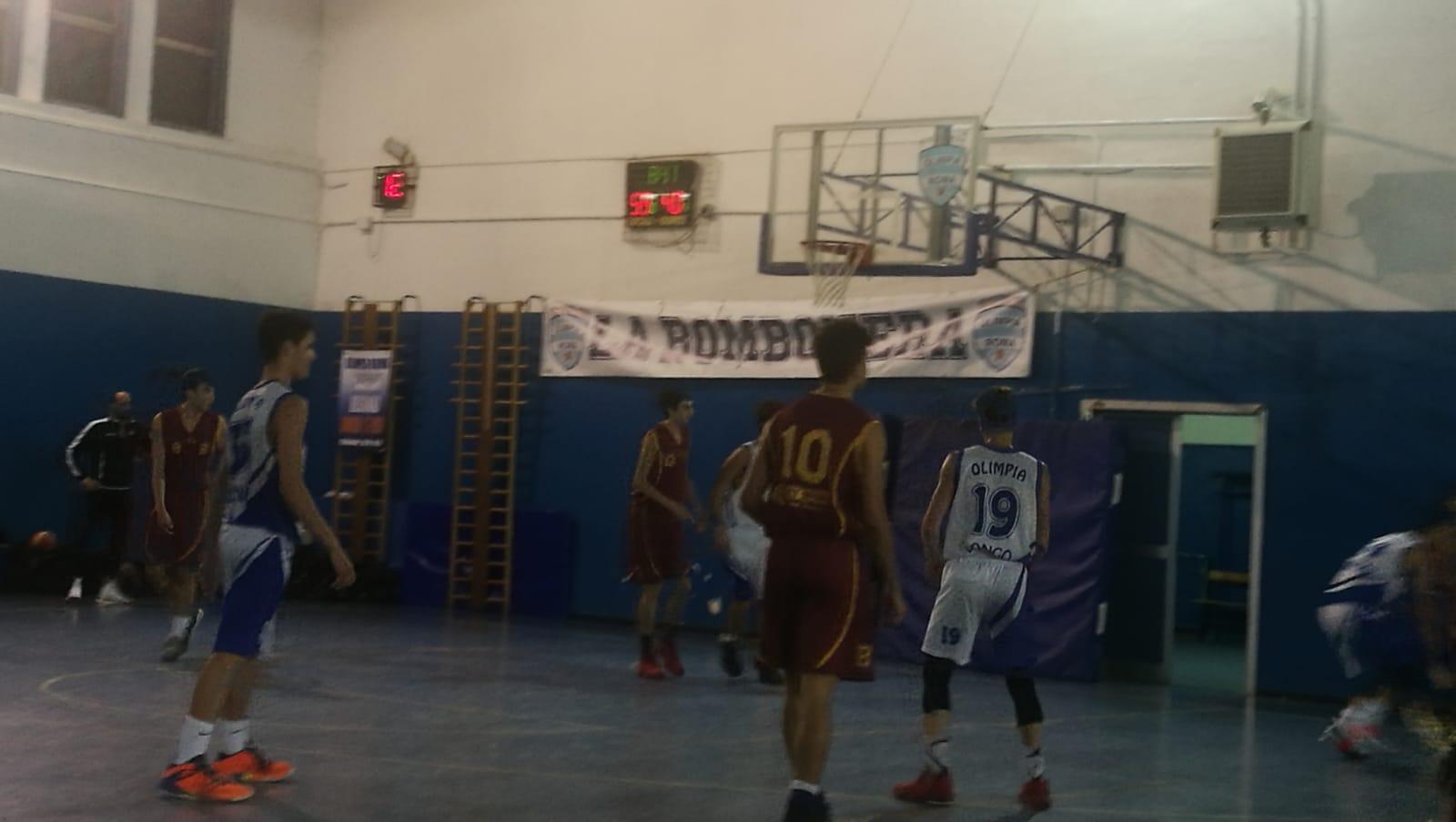 U16E Olimpia Roma - Basket Roma 78-57 8