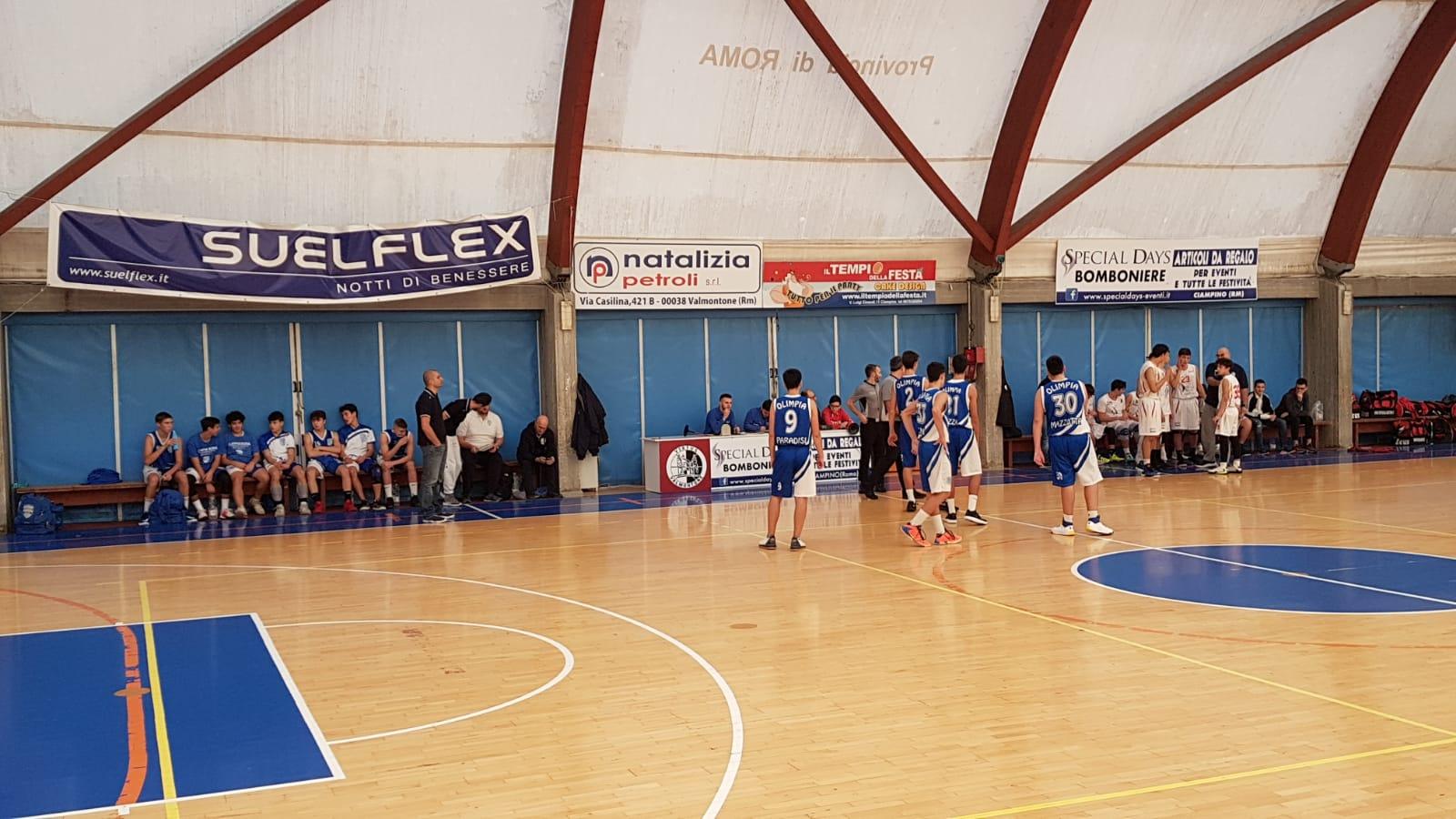U16E Virtus Valmontone - Olimpia Roma 64-86 16