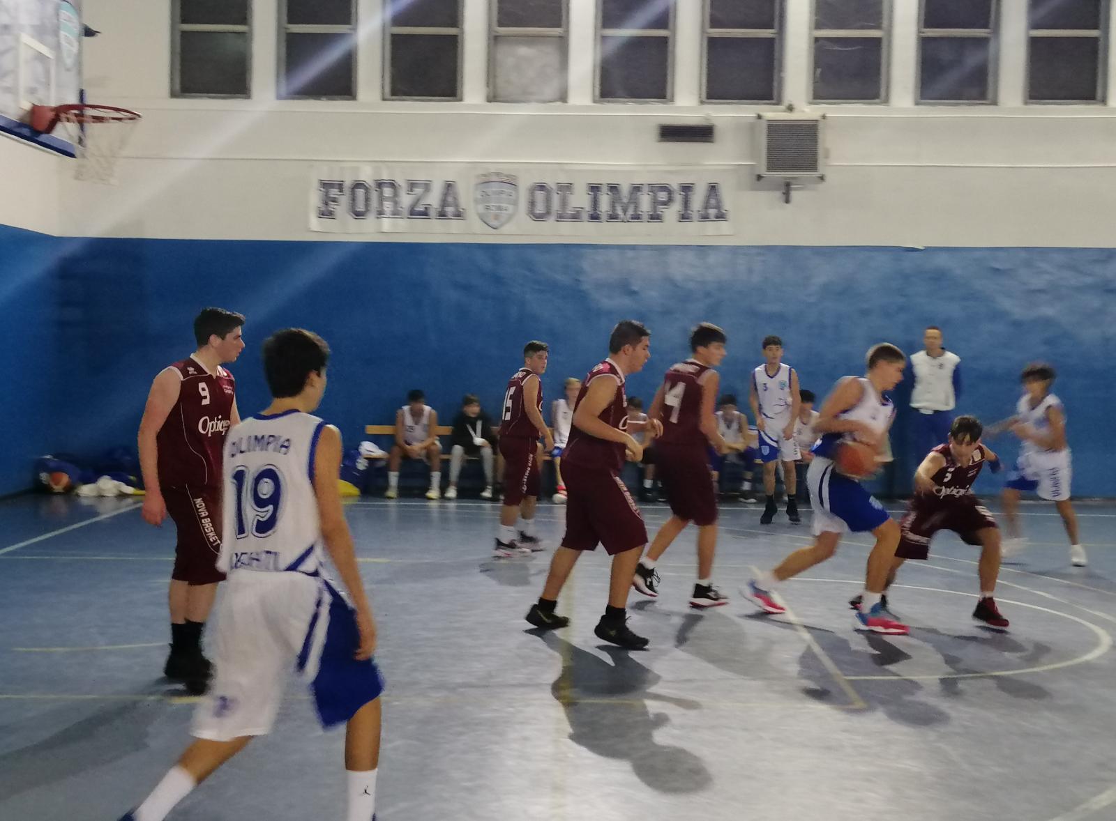 U16S Olimpia Roma - Nova Bk Ciampino 75-48 20