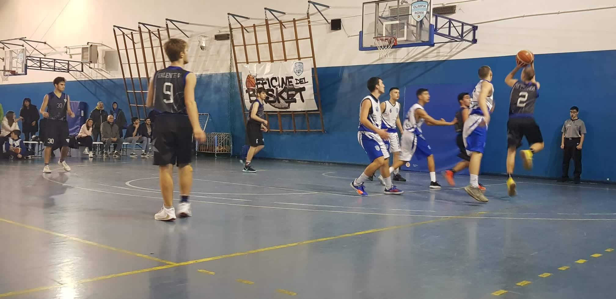 Olimpia roma e Basket Polaris in campo