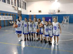 U14F Olimpia Roma - Pallacanestro Sora 63-40 2