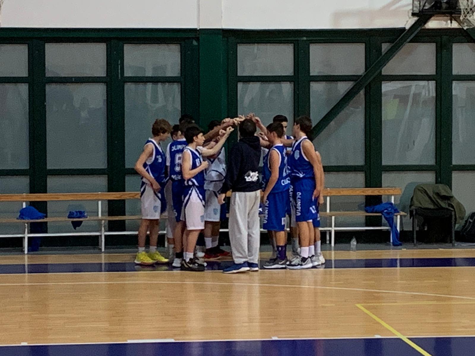 U15S Pass - Olimpia Roma 63-51 1