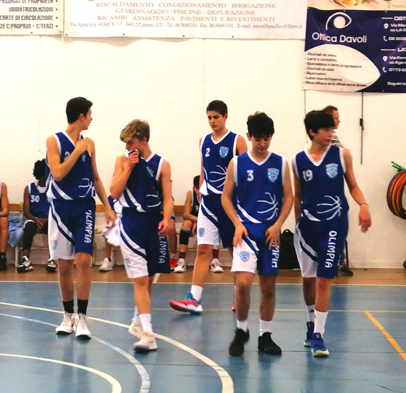 U16S Eurobasket - Olimpia Roma 62-74 1