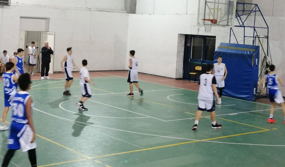 Basket Tuscolano Olimpia Roma