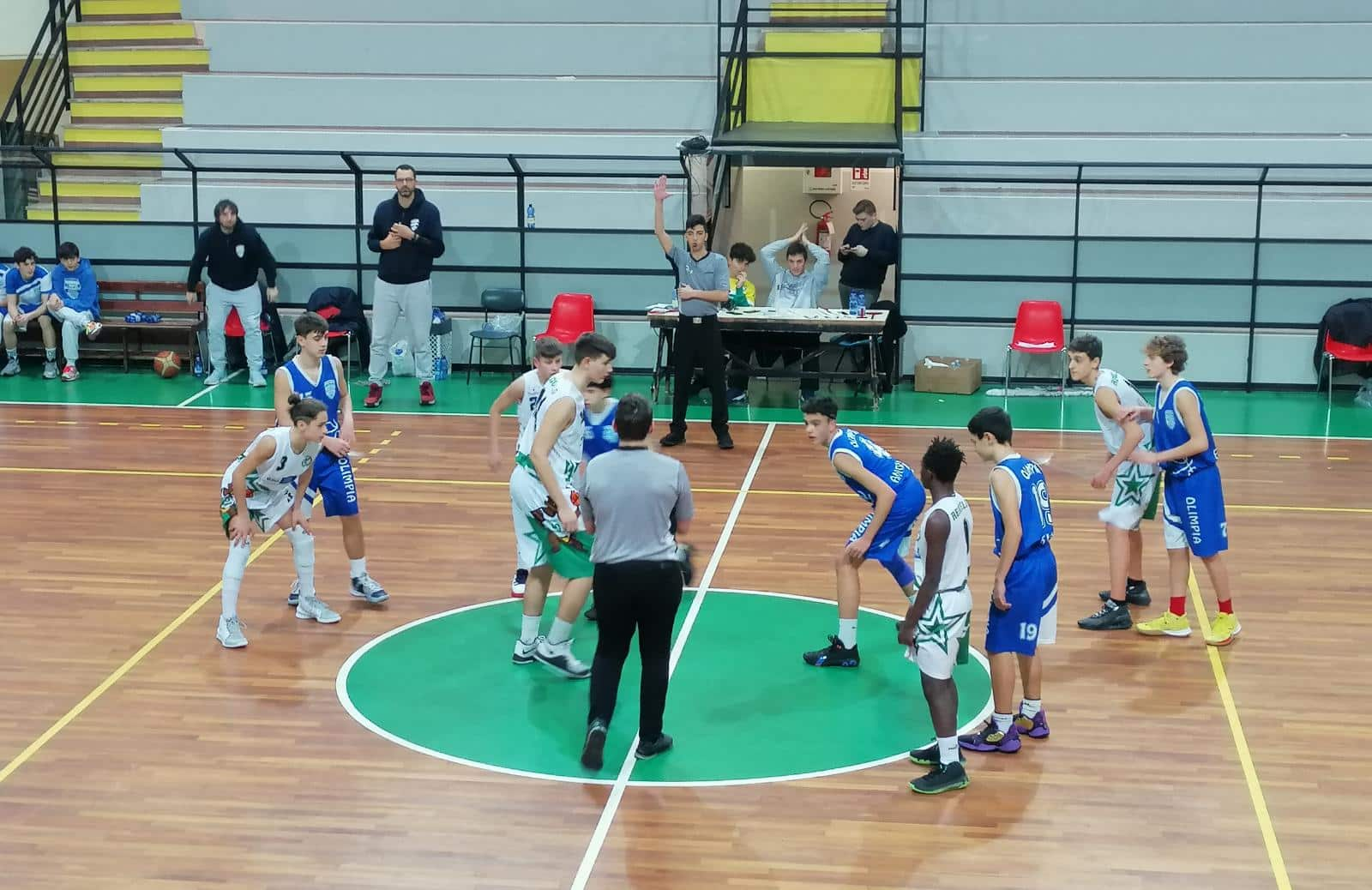 Photo of U14 Olimpia Roma – Basket Reggello 51-49 è Finale