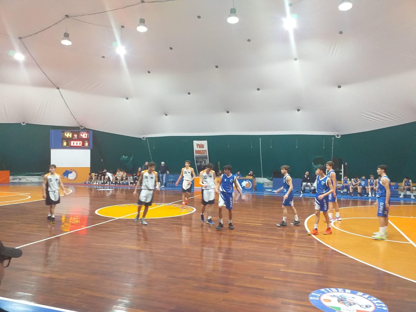 U15E Tiber Bk - Olimpia Roma 59-63 1