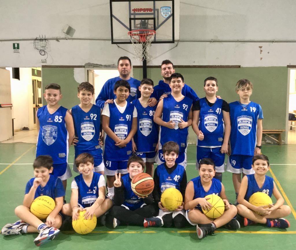 Minibasket Olimpia Roma - Manzi 2010