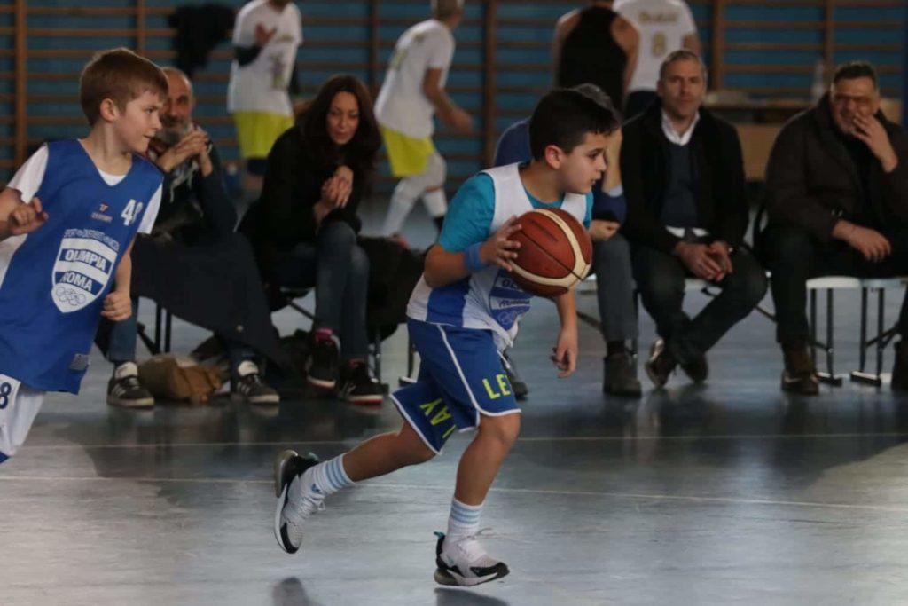 Minibasket Eso Celesti Olimpia contro Olimpia Manzi 31-22 2