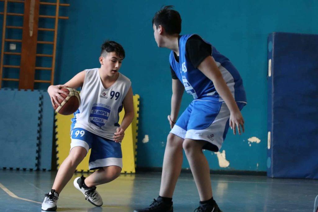 Minibasket Eso Celesti Olimpia contro Olimpia Manzi 31-22 3