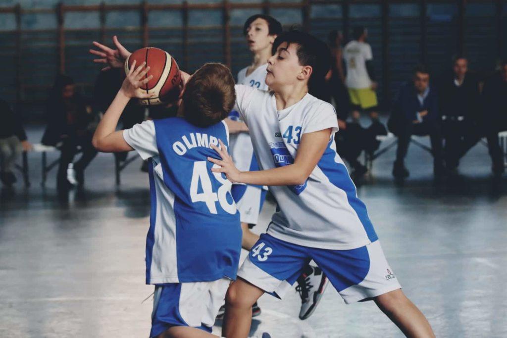 Minibasket Eso Celesti Olimpia contro Olimpia Manzi 31-22 4