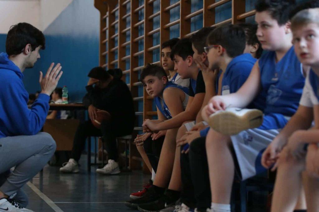 Minibasket Eso Celesti Olimpia contro Olimpia Manzi 31-22 5