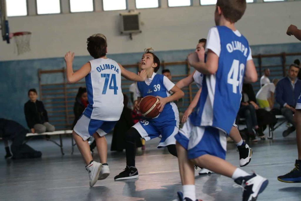 Minibasket Eso Celesti Olimpia contro Olimpia Manzi 31-22 6