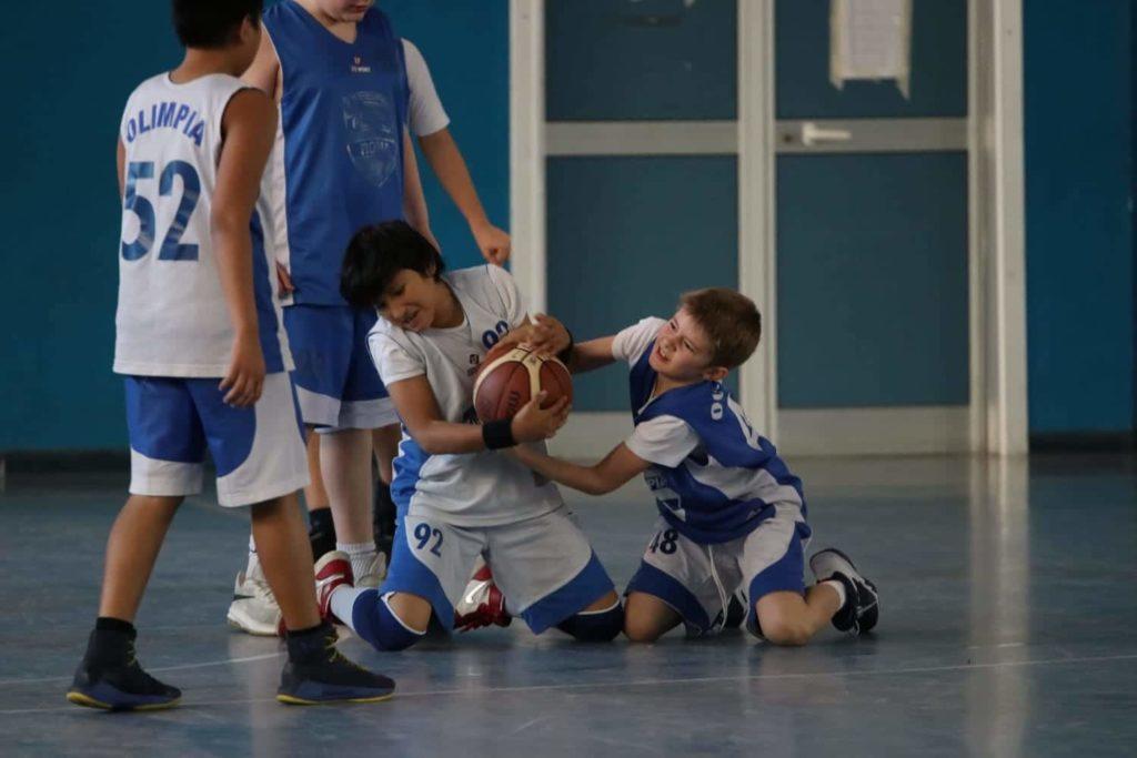 Minibasket Eso Celesti Olimpia contro Olimpia Manzi 31-22 7