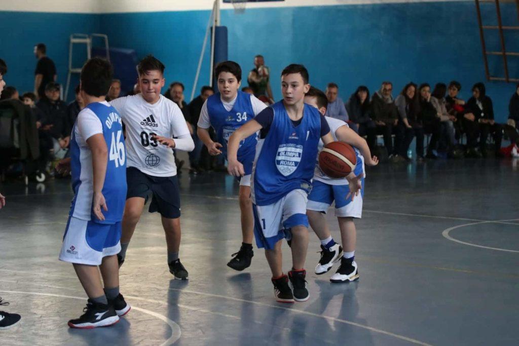 Minibasket Eso Celesti Olimpia contro Olimpia Manzi 31-22 9
