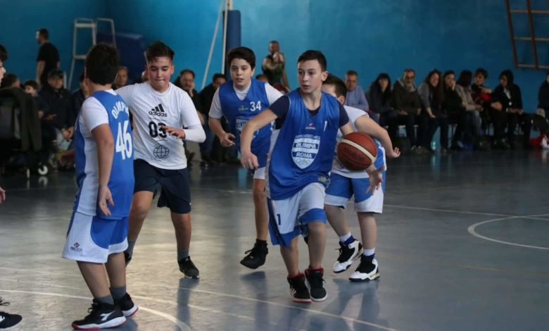 Minibasket Eso Celesti Olimpia contro Olimpia Manzi 31-22 1