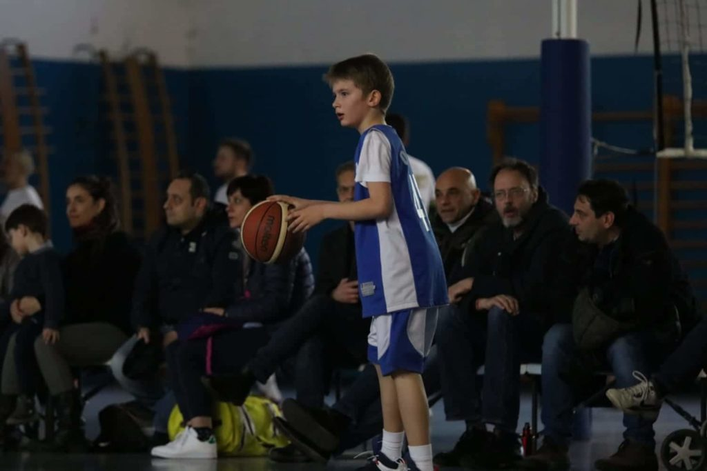 Minibasket Eso Celesti Olimpia contro Olimpia Manzi 31-22 10