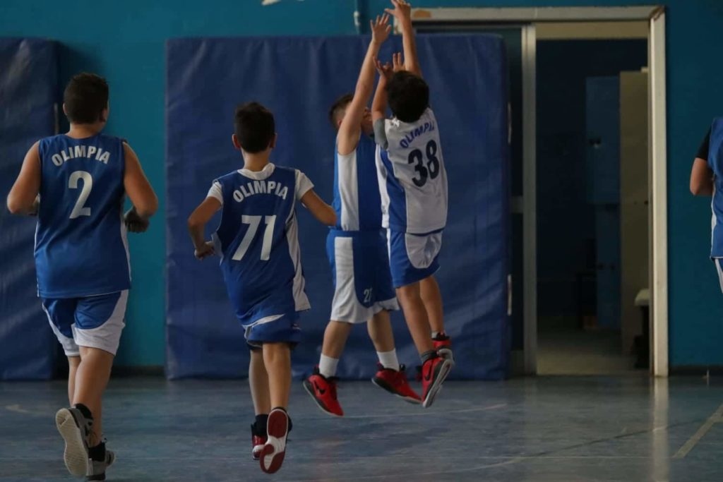 Minibasket Eso Celesti Olimpia contro Olimpia Manzi 31-22 11