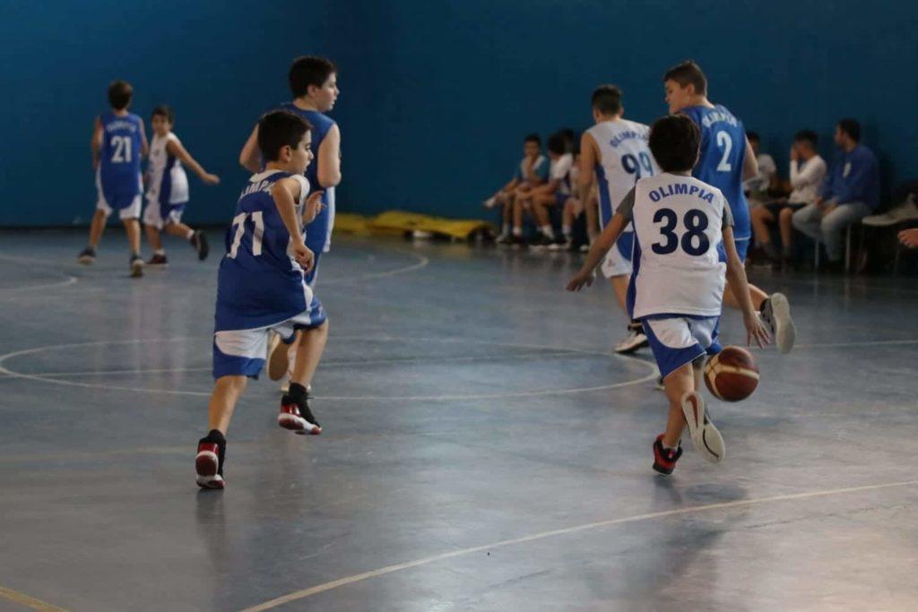 Minibasket Eso Celesti Olimpia contro Olimpia Manzi 31-22 12