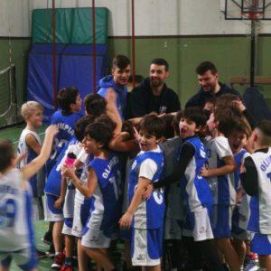 Bk e Fun Scoiattoli  Olimpia Manzi A - Olimpia Roma 10 - 12 2