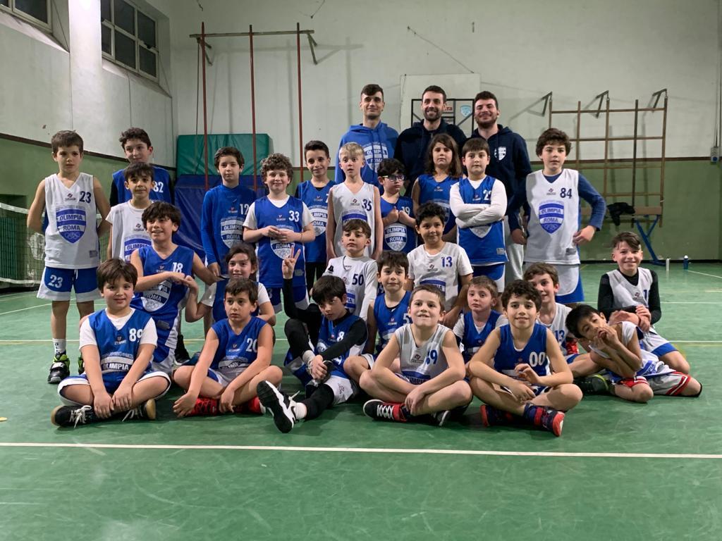 Bk e Fun Scoiattoli  Olimpia Manzi A - Olimpia Roma 10 - 12 1