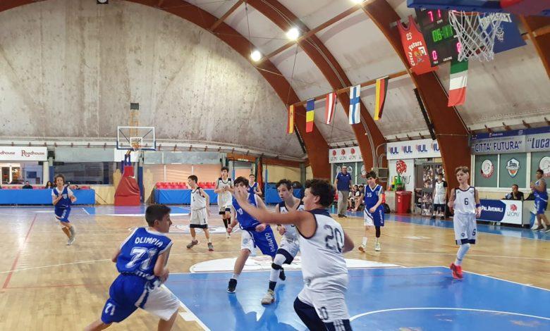 U13R Eurobasket - Olimpia Roma  49-41 1