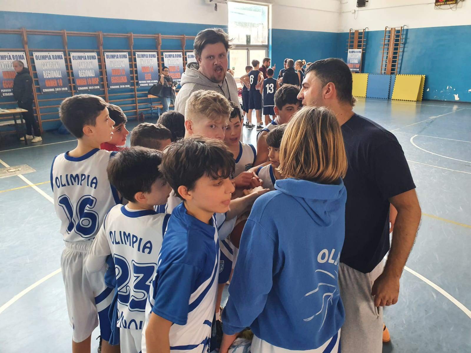 U13R Olimpia Roma - Virtus Roma  40 - 41 1