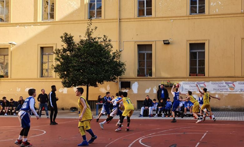 U13R Esquilino Bk - Olimpia Roma 61-36 1