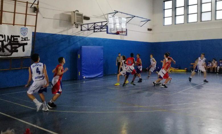 U14E Olimpia Roma - Uisp XVIII  91-44 1