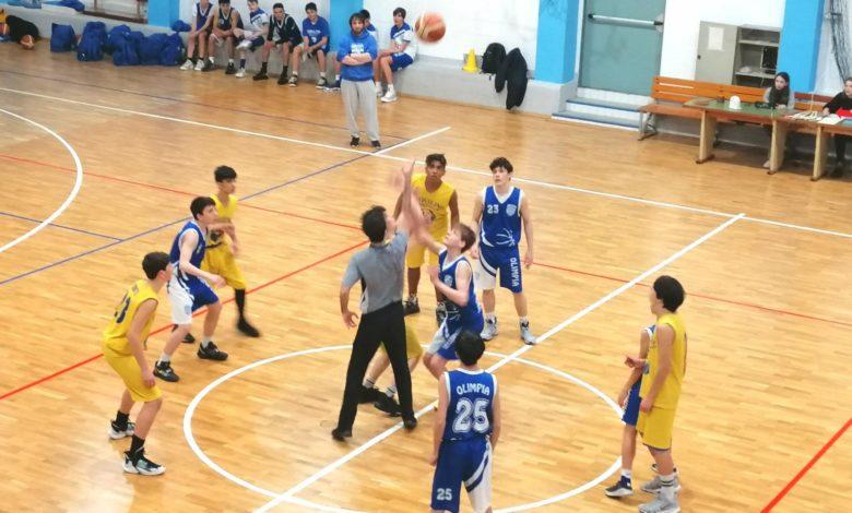 U15S Esquilino Bk - Olimpia Roma 53-50 1