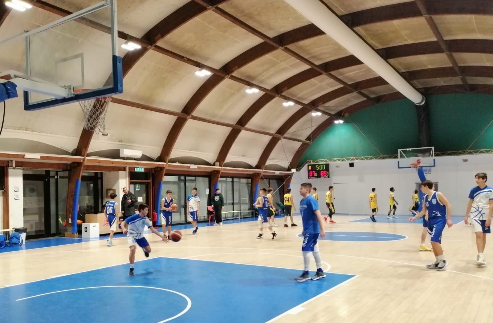 U15S Omnia Roma - Olimpia Roma 64-66 1