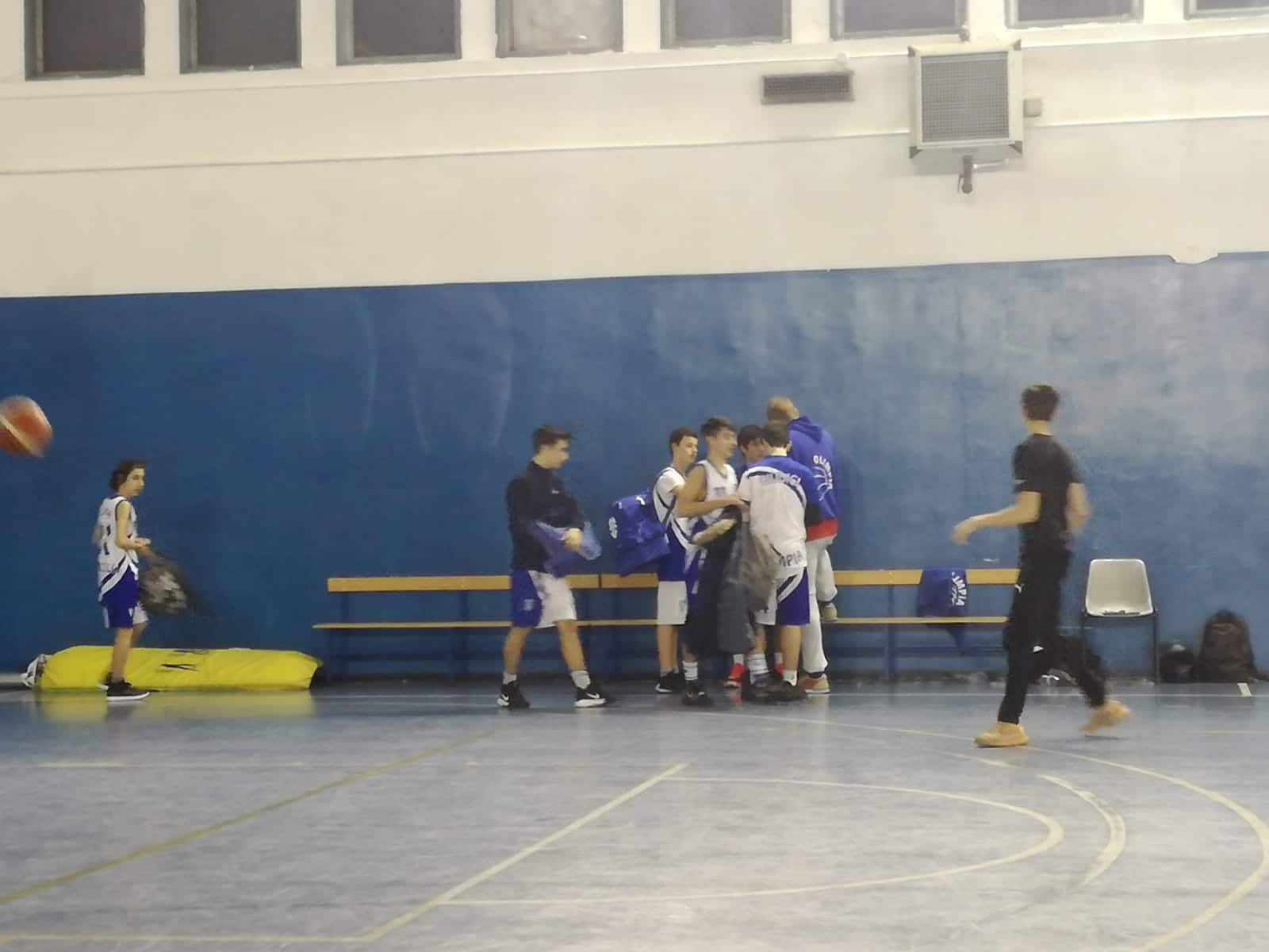 U15U Olimpia Roma - Anzio Basket 47-45 1