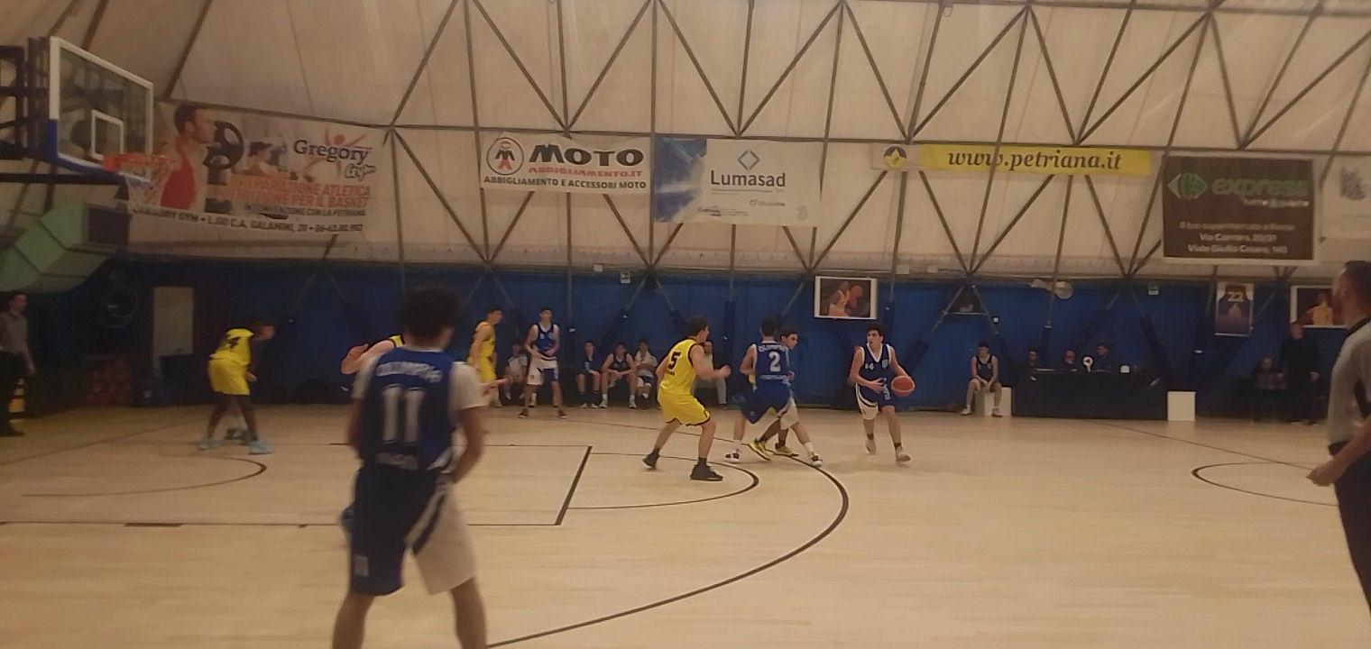 U16E Petriana Bk - Olimpia Roma 49-71 1