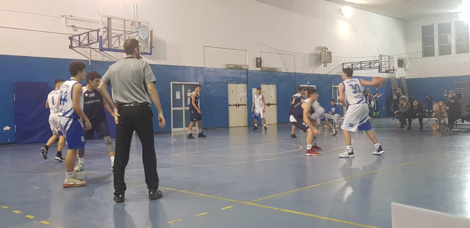 U18S Olimpia Roma - Bk Frassati 100-67 1