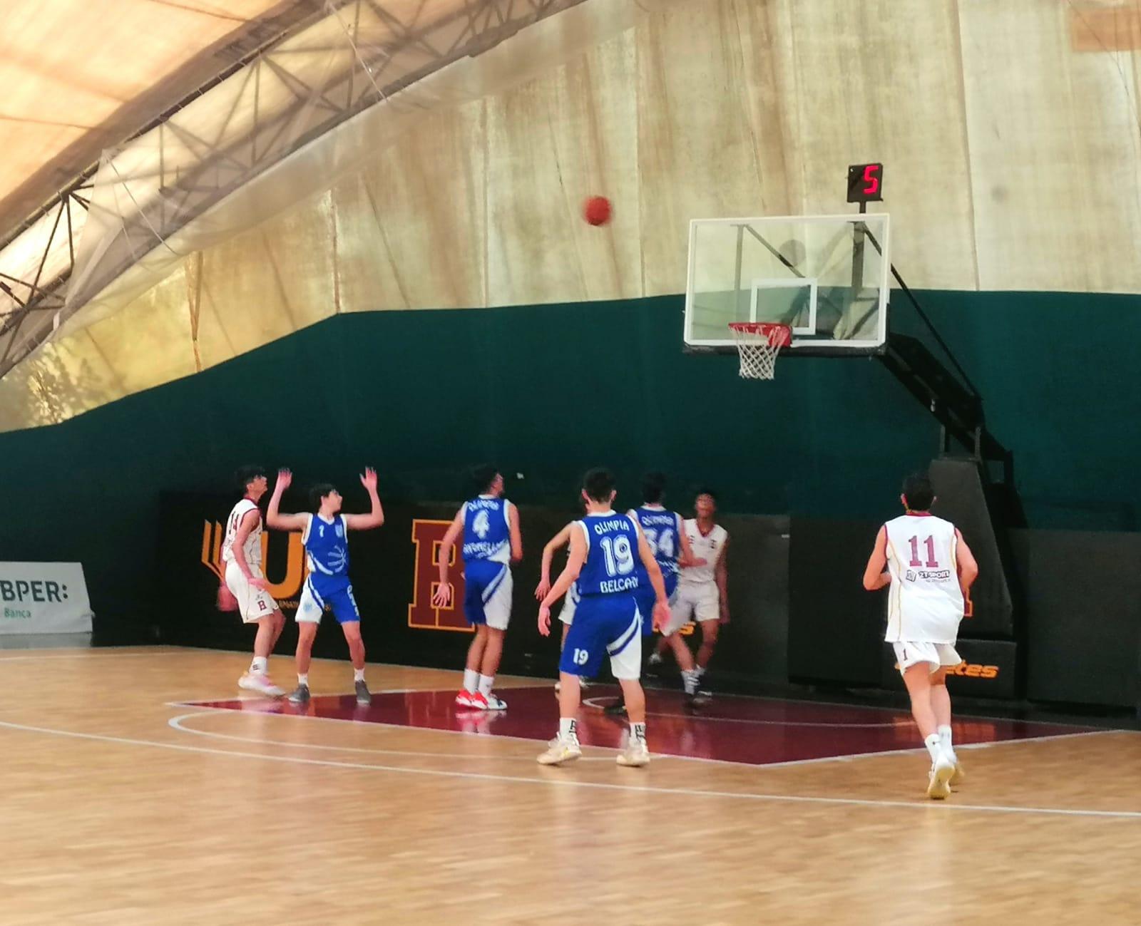 U15E  Bk Roma - Olimpia Roma 73-45 1